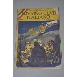 RIVISTA MENSILE TOURING CLUB ITALIANO ANNO XXI N° 12 DICEMBRE 1915 - MOLTO BUONO