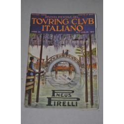 RIVISTA MENSILE TOURING CLUB ITALIANO ANNO XX N° 7 LUGLIO 1914 - BUONO
