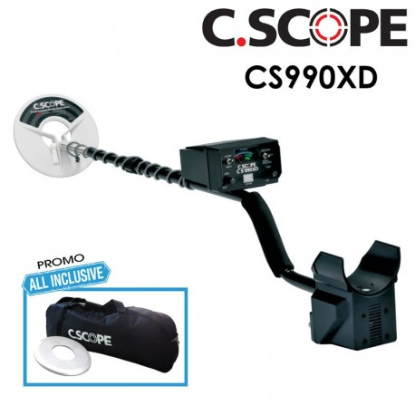CSCOPE METAL DETECTOR CS990XD CON BORSA E SALVAPIASTRA PROMO ALL INCLUSIVE