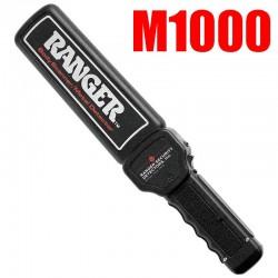 RANGER METAL DETECTOR PALMARE HAND HELD BODY SCANNER M1000