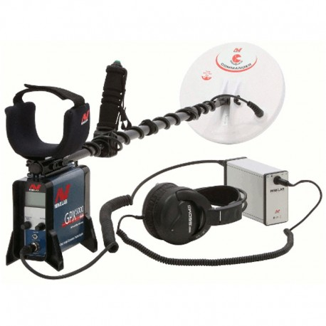 MINELAB GPX 4500 METAL DETECTOR RICERCA ORO GOLD SEARCH
