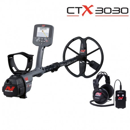 MINELAB CTX 3030 METAL DETECTOR RICERCA ORO GOLD SEARCH