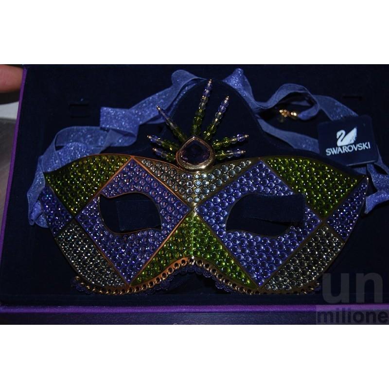 Maschera in cristalli Swarovski Edizione Limitata 2001  1806193 Abbigliamento e accessori