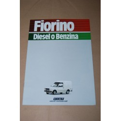 PROSPEKT BROCHURE DEPLIANT FIAT FIORINO DIESEL O BENZINA 1983 - 8 PAGINE