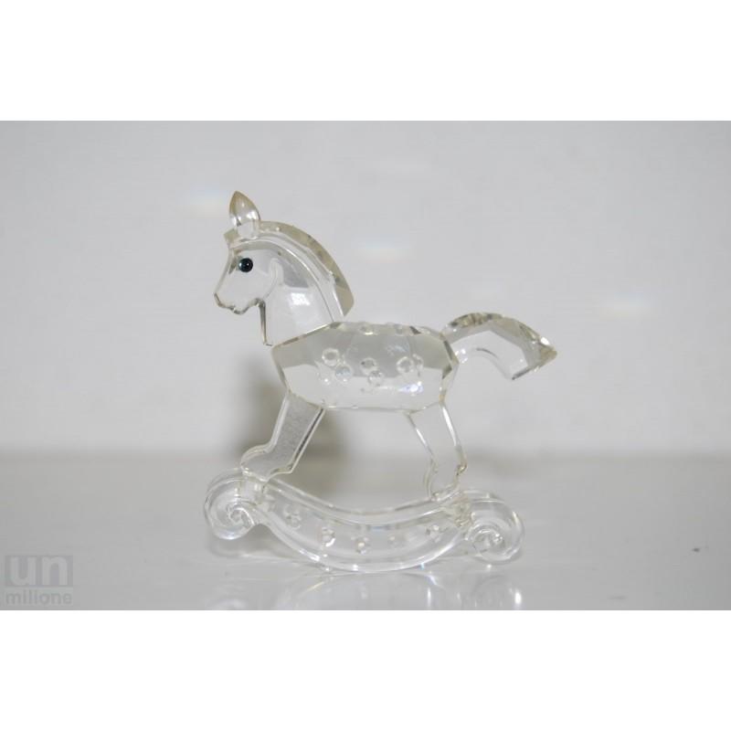 Cavallo A Dondolo Swarovski.Cristallo Swarovski Cavallo A Dondolo Gioco Cavallino Rif 183270