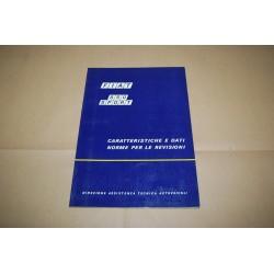 FIAT 850 SPORT CARATTERISTICHE TECNICHE E DATI NORME PER LE REVISIONI 1970