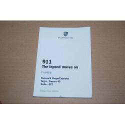 MANUALE PORSCHE 911: CARRERA 4 CCOUPE' CABRIOLET TARGA CARRERA 4S TURBO GT2