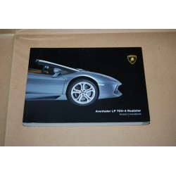 LAMBORGHINI ADVENTADOR LP 700-4 ROADSTER OWNER'S HANDBOOK