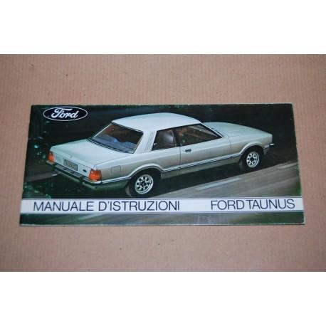 FORD TAUNUS MANUALE D'ISTRUZIONI ED. DI APRILE 1977