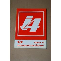 INNOCENTI AUSTIN i4 LIBRETTO USO MANUTENZIONE ED. 1966