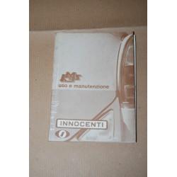 INNOCENTI MINI MINOR iM3S LIBRETTO USO MANUTENZIONE ED. 1967