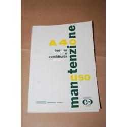 INNOCENTI AUSTIN LIBRETTO USO MANUTENZIONE A40 BERLINA E COMBINATA 1961