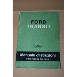 FORD TRANSIT MANUALE D'ISTRUZIONI EDIZIONE NOVEMBRE 1965