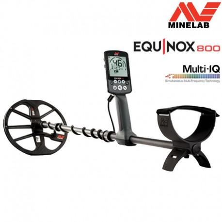 MINELAB EQUINOX 800 METAL DETECTOR CERCA METALLI