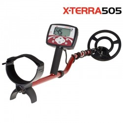 MINELAB X-TERRA 505 METAL DETECTOR INTERMEDIO PER PRINCIPIANTI