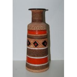 Vaso Ceramiche Fanciullacci color mattone h. 27 cm