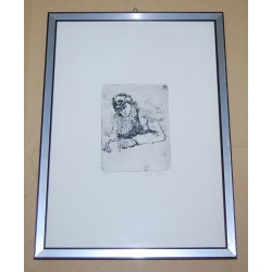 Acquaforte Stefania Salti 27x37 cm