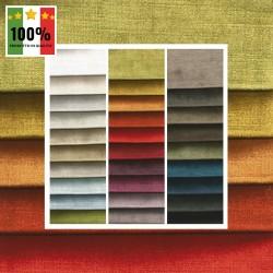 GLAM - Tessuto per divani poltrone 77% Viscosa 14% Cotone 9% Poliestere 29 varianti
