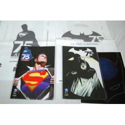 Coppia fumetti 75 ° anniversario Batman e Superman