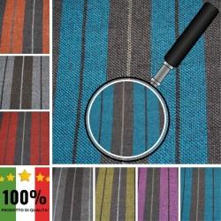 RI-QUADRI X014 - Tessuto per divani poltrone 100% Poliestere 7 varianti