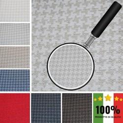 FIRST F958 - Tessuto per divani poltrone 69% Cotone 31% Poliestere 6 varianti