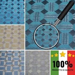 MOOD X296 - Tessuto per divani poltrone 57% Viscosa 18% Cotone 25% Poliestere 4 varianti