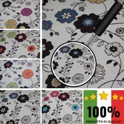MATISSE F991 - Tessuto per divani poltrone 70% Cotone 30% Poliestere 5 varianti