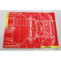 Ferrari F50 cartella stampa completa