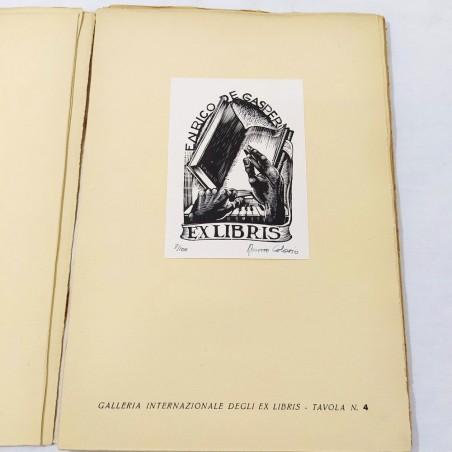 Galleria Nazionale degli EX LIBRIS Bolaffio Ed. 15 tavole 1947