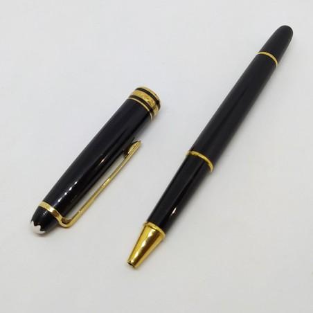 MONTBLANC penna a sfera solo fusto (senza refill) nera usata