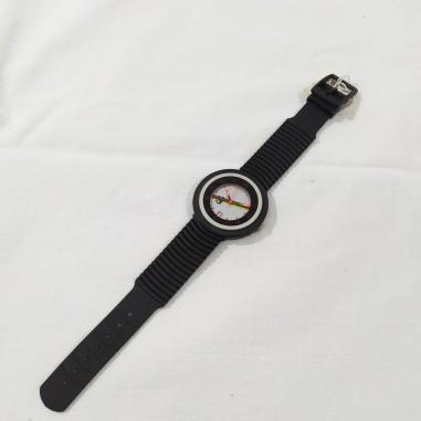 Orologio polso uomo originale Abarth cassa 40 mm nero