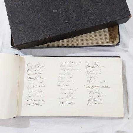 Album autografi OFFICINE REGGIANI per Ing. ALESSIO 1940