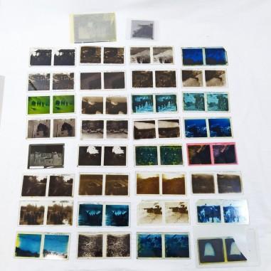 34 diapositive su base di vetro prima guerra mondiale 1915/1918