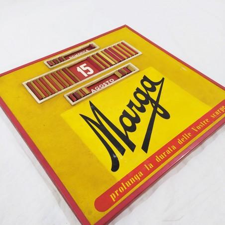 Calendario pubblicitario Lucidi Magra 35,5 x 34,5 cm