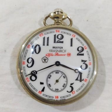 KRASNIKOV orologio da tasca cipolla CCCP per ALFA ROMEO