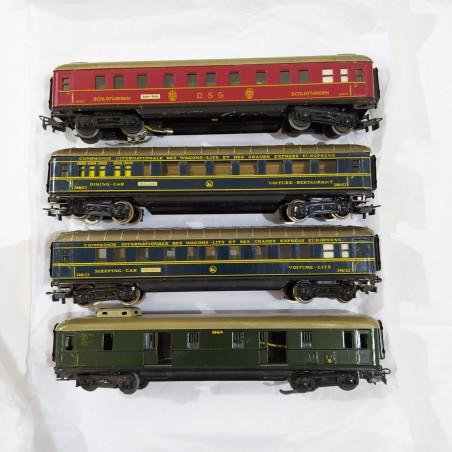 MARKLIN - Scatola completa 846/4 con loco SK800 anni '50 Scala H0 -  funzionante