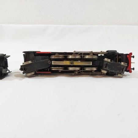 MARKLIN Loco vapore BR01-07 + 3 vagoni passeggeri anni '50 scala H0 usati