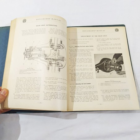 FIAT REPAIRSHOP MANUAL MODEL 514 Manuale delle riparazioni 1930 - Inglese