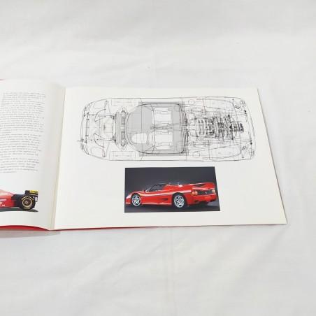 FERRARI F50 brochure presentazione con 32 pagine + 9 diapositive