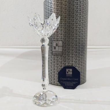 Cristallo Swarovski candeliere tulipano 7600 NR 141 000 scatola e certificato