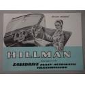 HILMAN EASIDRIVE BROCHURE AUTO INGLESE 2 PAG. REF. 650/H BUONE CONDIZIONI