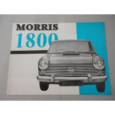 MORRIS 1800 BROCHURE AUTO INGLESE 4 PAG. 6600/C BUONE CONDIZIONI