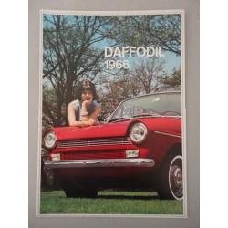 DAFFODIL 1966 BROCHURE AUTO ITALIANO 4 PAGINE LIEVI ONDULAZIONI BUONE COND.