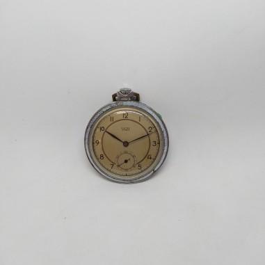 Orologio da panciotto ANCRE 15 rubis vintage anni 70 48 mm