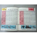 FORD FULL LINE FOR 57 BROCHURE AUTOCARRO INGLESE 4 PAG. REF. FD-7720 12-56 BUONO