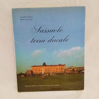 Libro SASSUOLO TERRA DUCALE 1980 + biglietto del Presidente Manfredini