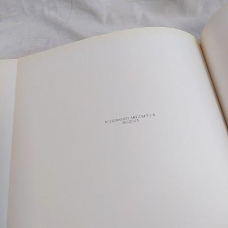 Libro ARMONIOSA PESARO 1980 + biglietto da visita del Presidente