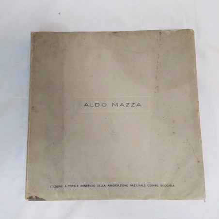 Libro illustratore ALDO MAZZA a beneficio Associazione Cesare Beccaria
