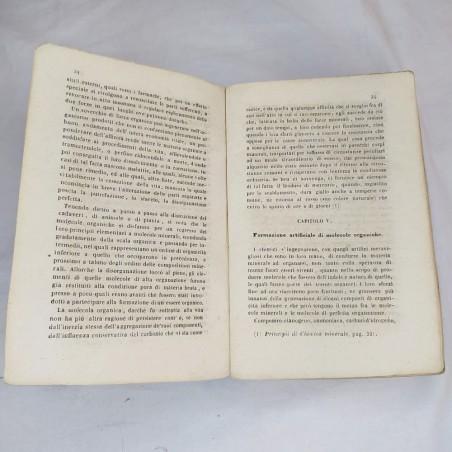 Principi Elementari di CHIMICA ORGANICA di Francesco Selmi 1852