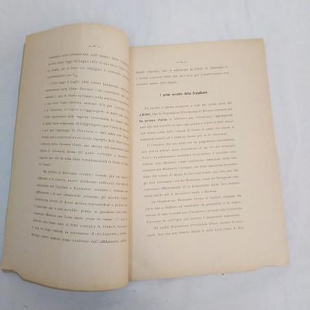 Opuscoli CAUSA CIVILE del COMUNE DI MODENA 1906 e Comitato Promotore FERROVIA